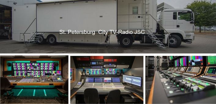 Broadcast Solutions Delivers First UHD OB Van to St. Petersburg