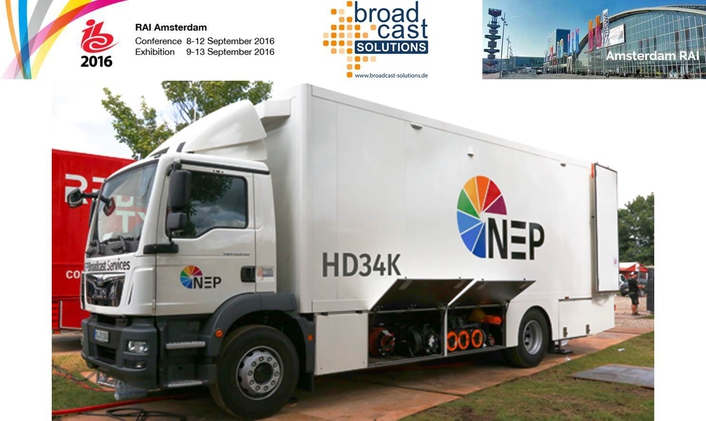Broadcast Solutions to showcase two new 4K OB Vans at IBC2016, Outdoor O.D02