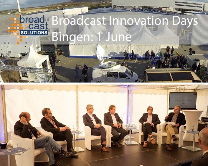 Robycam Goes 4K – Live Presentation at Broadcast Innovation Day, 1 June 2017