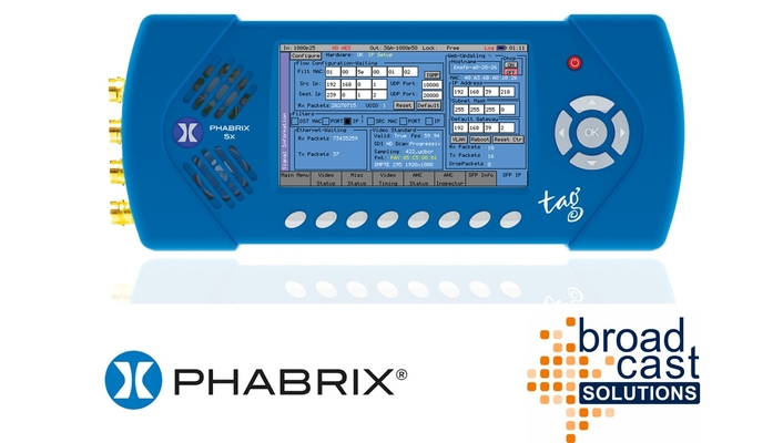 Broadcast Solutions Finland Expands PHABRIX Distribution Deal to Sweden
