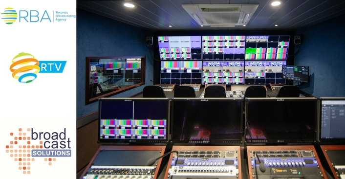 Broadcast Solutions expands Streamline OB van footprint in Africa delivering new Streamline S12T series OB truck to Rwanda Broadcasting Agency