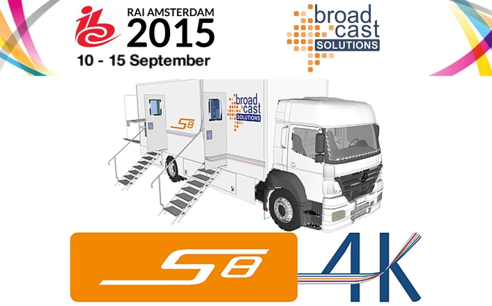 Broadcast Solutions GmbH will show its brand-new member of the Streamline product family of OB Vans