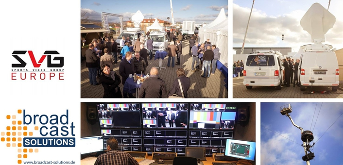 Broadcast Solutions' Broadcast Innovation Days 2017, June 1st in association with SVG Europe
