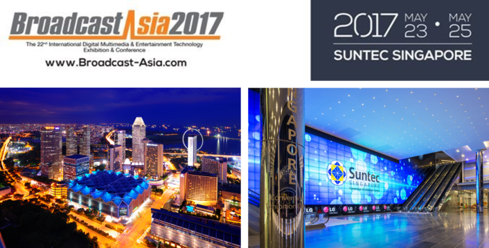 BroadcastAsia2017 to Feature New Drone and Virtual Reality Clusters and Bigger TV Everywhere! Zone