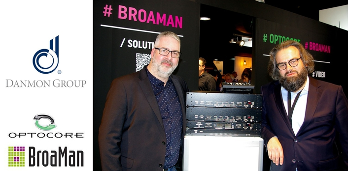 DANMON GROUP TAKES ON OPTOCORE AND BROAMAN FOR SWEDEN