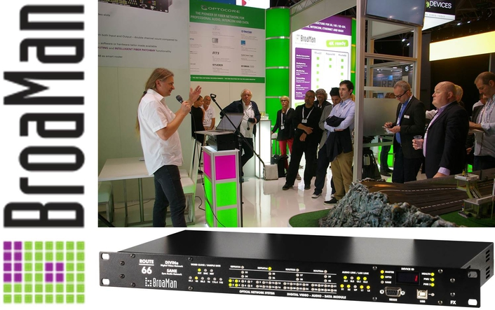 ALL ROUTES LEAD TO BROAMAN AT IBC 2016