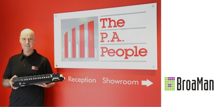 THE P.A. PEOPLE CHOOSE BROAMAN FOR VIDEO TRANSPORT SOLUTION