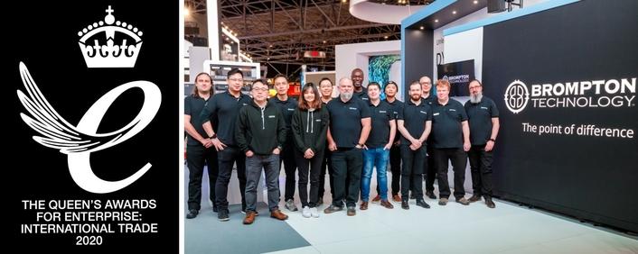 Brompton Technology wins Queen's Award for Enterprise: International Trade 2020