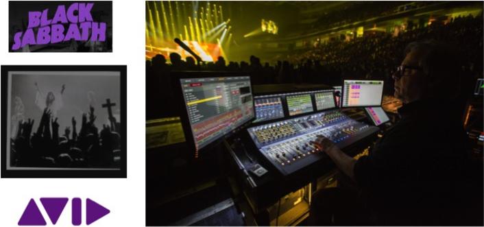 "Avid VENUE | S6L Helps Deliver the Thunder on Black Sabbath's ""The End"" Tour"