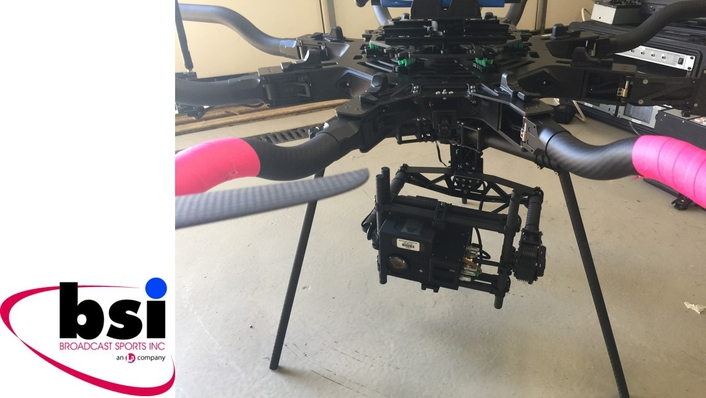 BSI launches the ZF-CAM 1080p/50/3G Drone Camera
