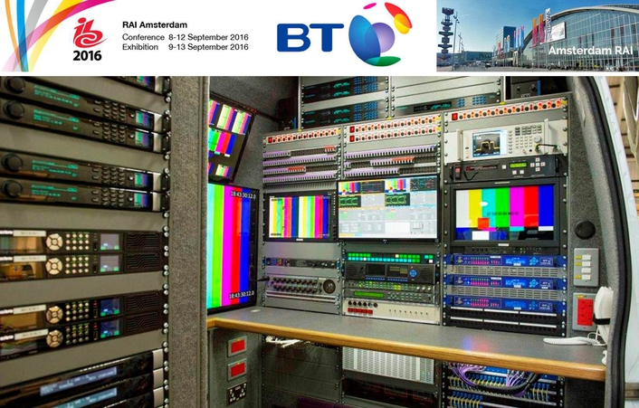 BT REVEALS THE FUTURE OF ULTRA HD OUTSIDE SPORTS BROADCASTING AT IBC 2016