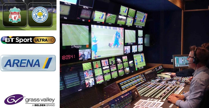 BT Sport Produces World's First All-IP 4K Broadcast with Arena Television Powered by a Suite of Technology from Grass Valley