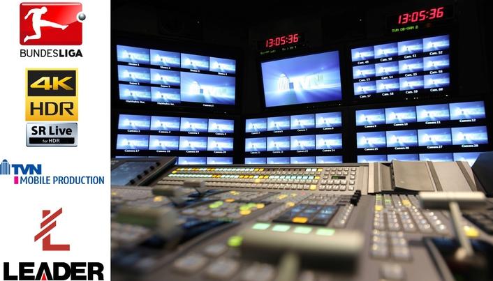 TVN Chooses Leader LV5490 for UHD-HDR Bundesliga OB Tests