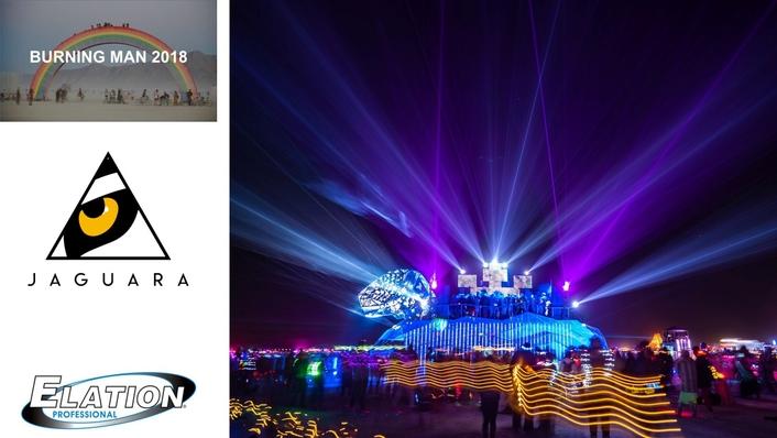 JAGUARA Comes to Life in Nevada Desert with Elation Cuepix 16 IP™