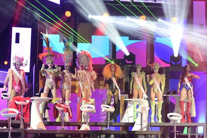 Ayrton Ghibli shines again for Las Palmas Carnival spectacular