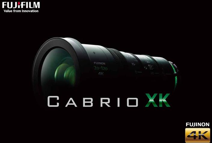 "New 4K-compatible high zoom ratio cine lens ""FUJINON XK6x20"""