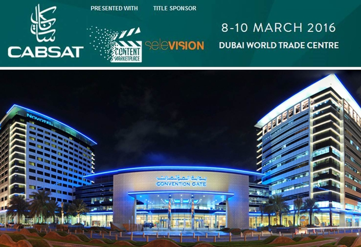 "CABSAT 2016 TO DRIVE ""TRANSFORMATIVE"" MENA ENTERTAINMENT MEDIA MARKET"