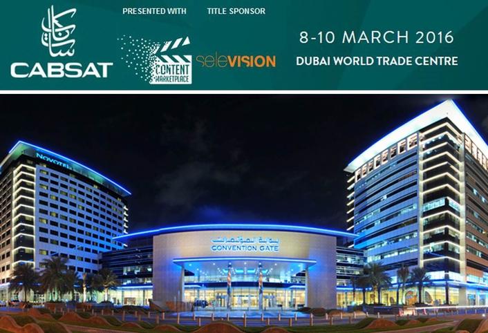 "CABSAT 2016 TO DRIVE ""TRANSFORMATIVE"" MENA ENTERTAINMENT MEDIA MARKET"