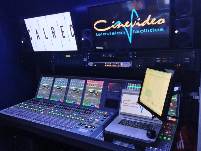 Italy's Cinevideo sees the 'Light' with dual and redundant Artemis consoles on board new 4K truck
