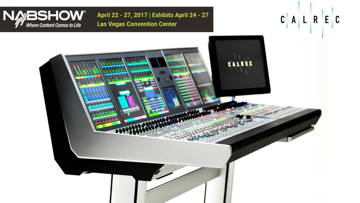 Ray of Light: Calrec launches new Artemis console at NAB2017 Show
