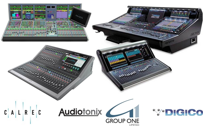Audiotonix announces its partnership with and the appointment of Group One Ltd as the new Calrec Distribution in the USA