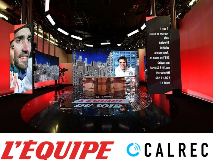 Calrec's Brio and Summa serve up sports programming for French TV channel L'Equipe