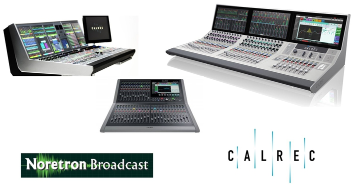 Noretron Broadcast to distribute full line of Calrec Audio consoles in Finland and Estonia