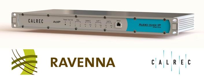 Calrec launches RAVENNA/AES67 interface