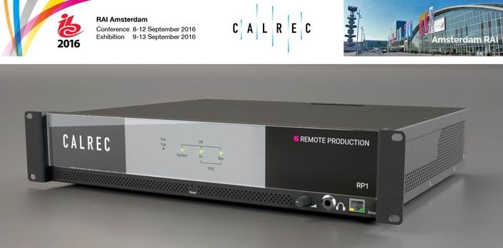 New Calrec Products at IBC2016