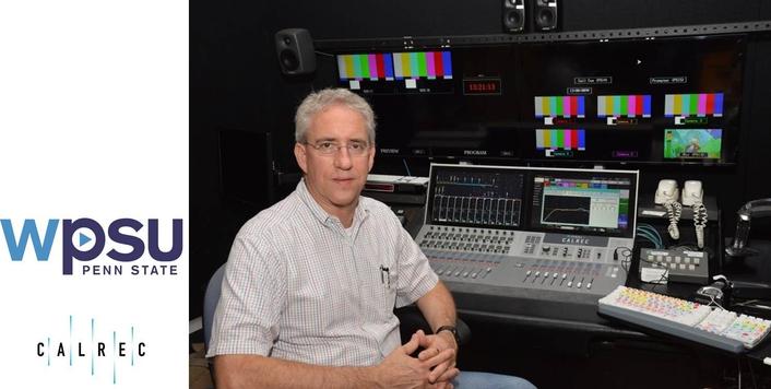 Calrec Audio's Summa gets top grades at Penn State's WPSU