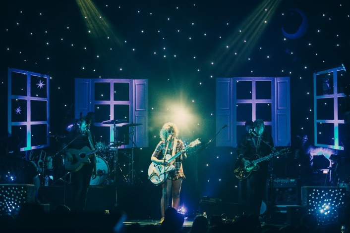 Elite Multimedia helps launch the CAM 'Burning House' tour with Cour Design