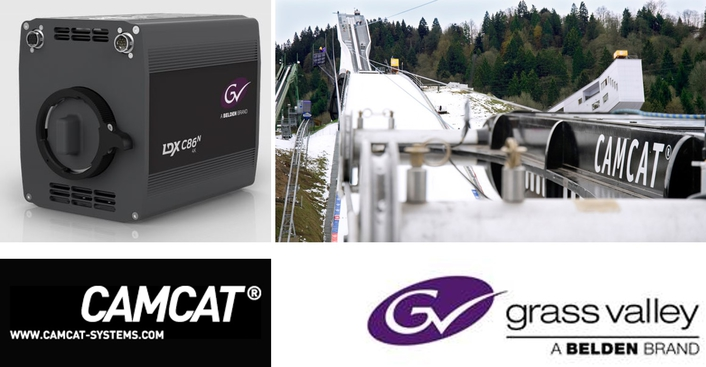 Grass Valley Equips CAMCAT-Systems with LDX C86N Compact Series Cameras