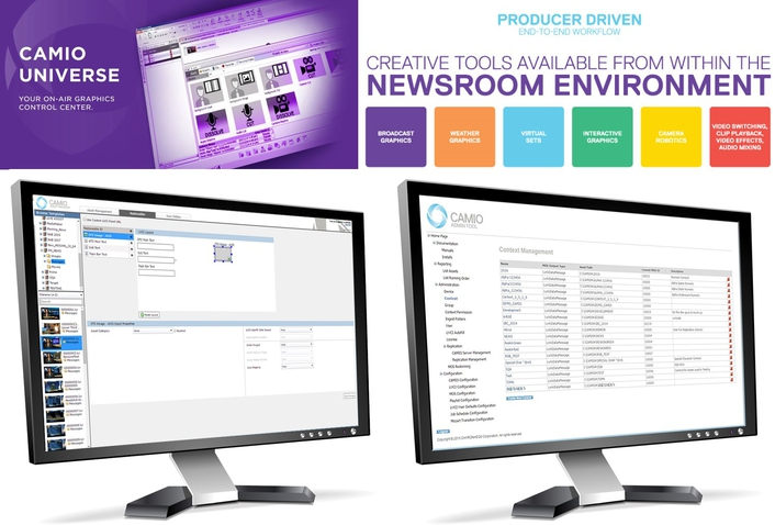 ChyronHego Releases Significant Upgrade of CAMIO Graphic Asset Management Solution