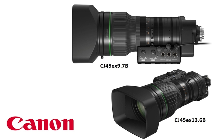 "Canon enhances 2/3"" broadcast portable zoom lens range"