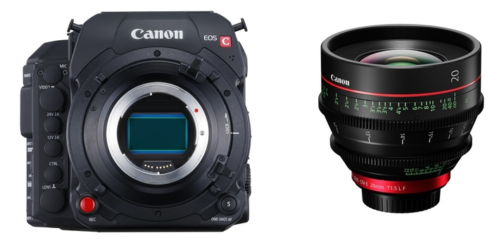 Canon launches the CN-E20mm T1.5 L F, a large format super-fast cine prime lens with EF mount to deliver outstanding 4K footage