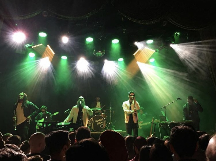 Capital Cities Plays Beneath Elation LED Rig at Bowery Ballroom in New York