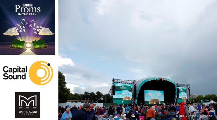 CAPITAL SOUND'S MLA SCORES ANOTHER PROMS IN THE PARK TRIUMPH