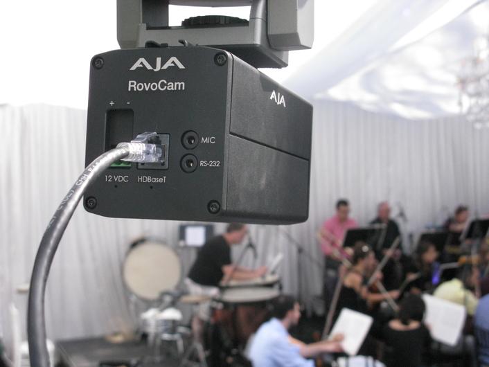 AJA RovoCam Camera System Simplifies Casa Loma Event AV