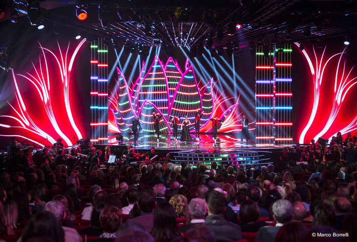 RAI Television's Cavalli di Battaglia Utilises Lighting Control by Jands Vista