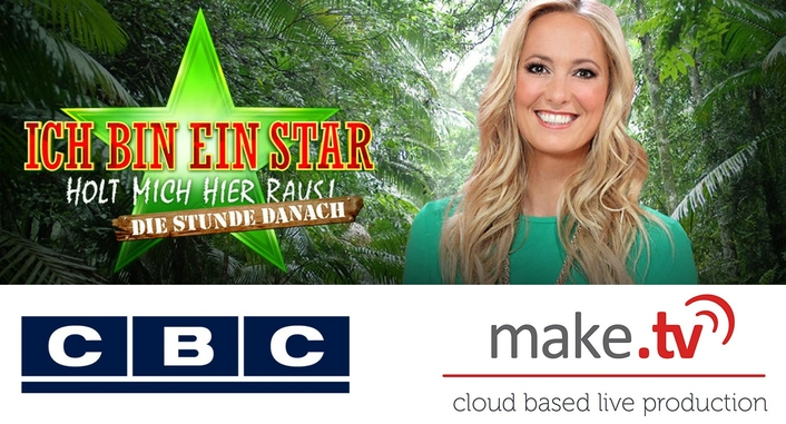 CBC works with Make.TV on Celebrity Talk Show