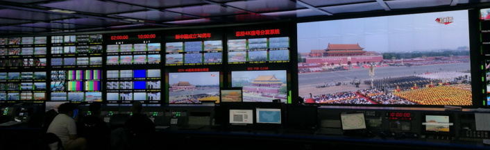 Nevion equipment instrumental in live broadcast of The People's Republic of China's 70th anniversary celebrations