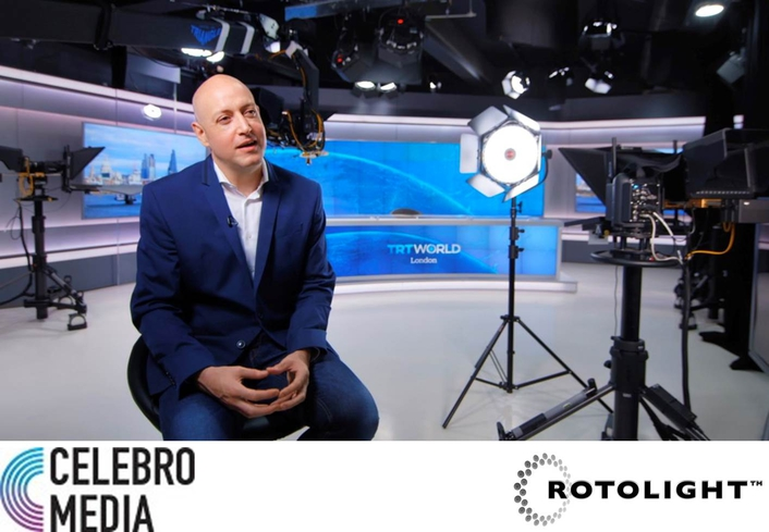 Rotolight Anova: the exclusive light of choice for London's first 4K television studio