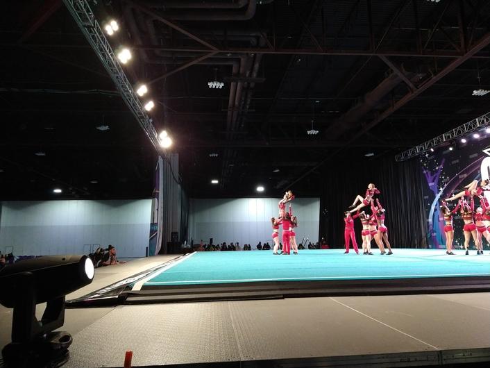 Lite Tek Entertainment and Elation light cheerleading championship