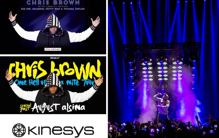 Kinesys Moves It for Chris Brown tour