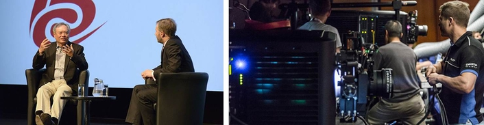 Ang Lee makes cinema history with Christie® Mirage 3D projector