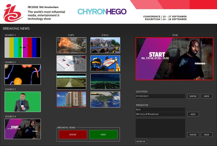 ChyronHego IBC2018 Preview