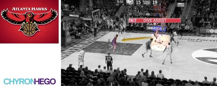 NBA's Atlanta Hawks Use ChyronHego's Coach Paint