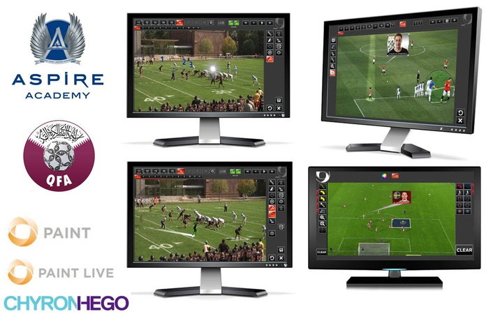 In Milestone Deal, Qatar's Aspire Academy Chooses ChyronHego's Coach Paint Telestration Tool