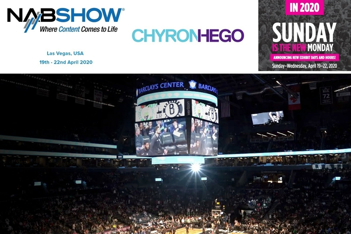 ChyronHego at the 2020 NAB Show
