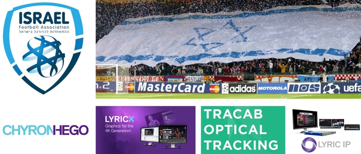 Israeli Premier Football League Chooses ChyronHego's Advanced Graphics, Player Tracking, and Virtual Graphics Solutions